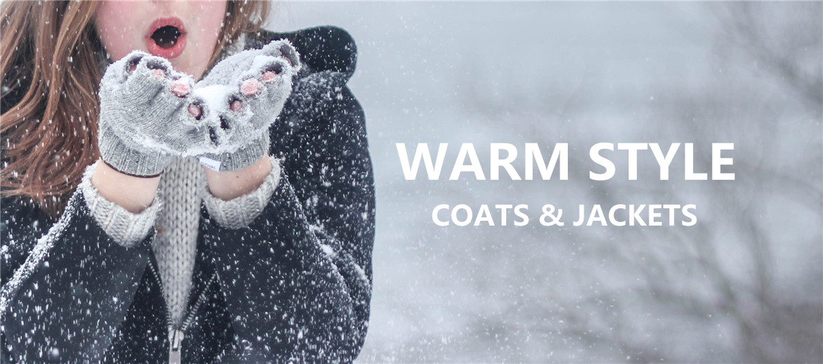 warm style coats and jackets