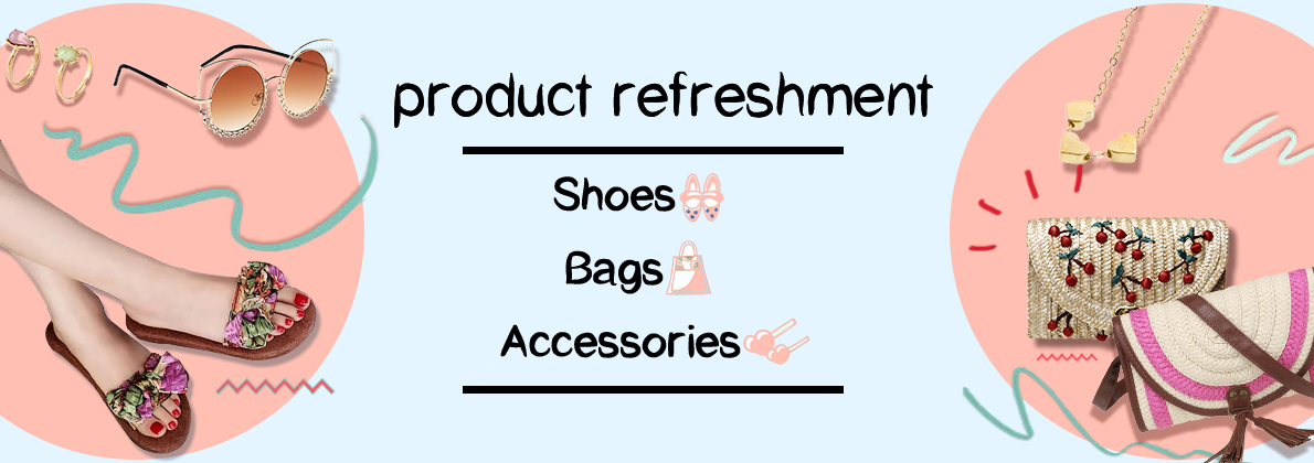 2017 Fashion shoes bags accessories