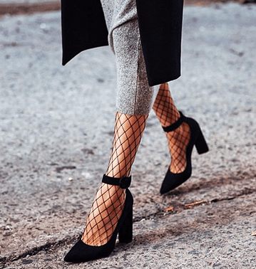FISHNET TIGHTS WITH JEANS TAKE OVER STREET STYLE
