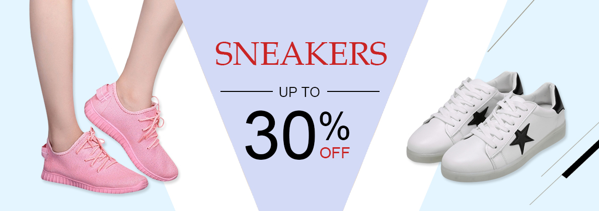 sneakers sale up to 30%off