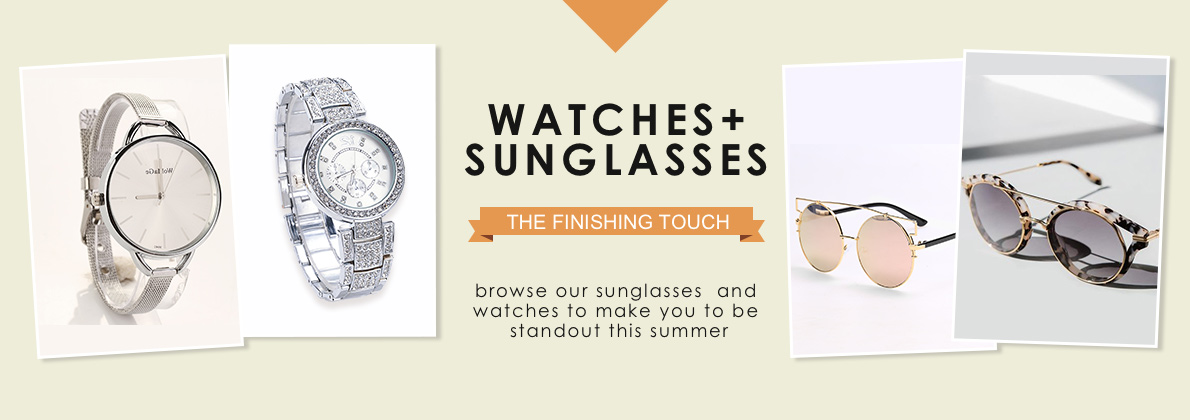 Selected sunglasses and watches, Dresslink Accessory deal