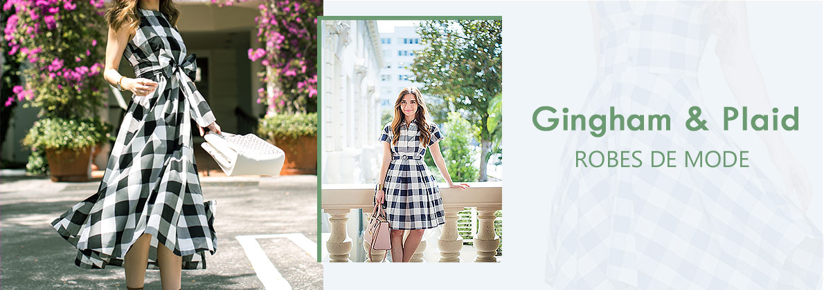 Dresslink |Gingham & plaid