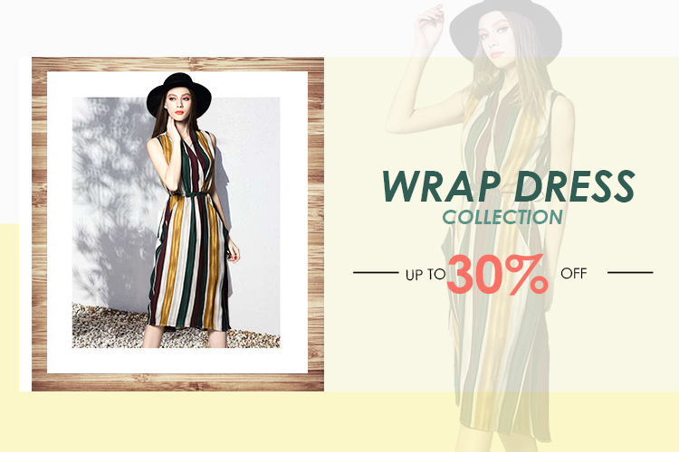 wrap dress collection|DRESSLINK.COM