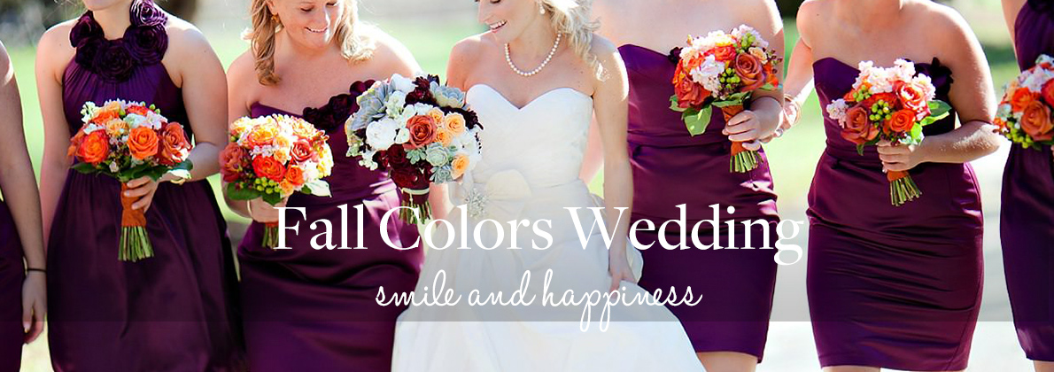 fall wedding|DRESSLINK.COM